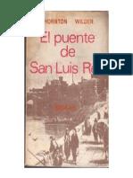 Wilder Thornton - El Puente de San Luis Rey