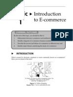 Topic 1 Intro to E-Commrce