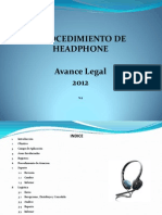 Presentación Headphone 2012