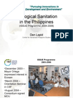 PP12 - D Lapid - Ecological Sanitation in the Philippines
