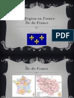 Ile de France Presentation