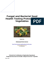 Seed Health Testing for Vegetables