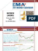 Ncdex Weakly Report 15apr.