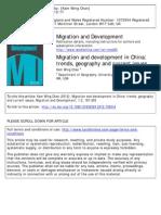 Chan Migration China MD
