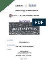 PORTADA PORTAFOLIO E INTRODUCCIÓN