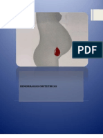 Hemorragias obstetricas