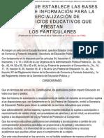 Acuerdo Bases Minimas de Informacion