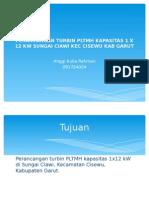 PERANCANGAN TURBIN PLTMH KAPASITAS 1 X 12 KW.pptx