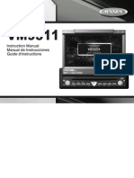 Jensen VM9311 Car Stereo Manual