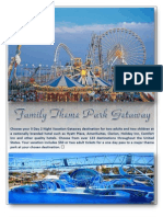 wwis - family theme park getaway - april 2013 - 2nd chance promotion winner