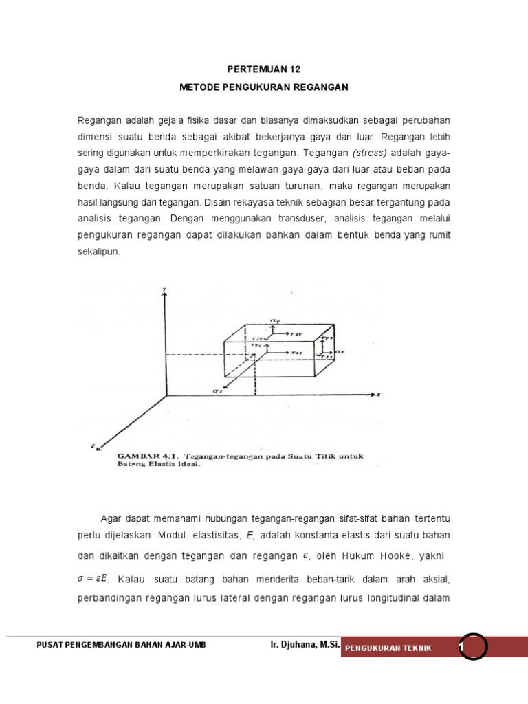 Metode pengukuran regangan ccuart Images