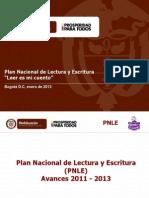 presentacion pnle avances 2011-2013