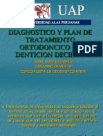 Diagnostico en Denticion Decidua