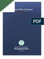 Monitory policy of Bangladesh