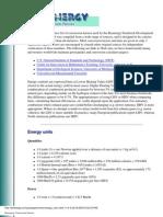 Bioenergy Conversion Factors