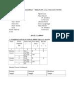 Lembar Kerja Kalibrasi Timbangan Analitik Elektronik