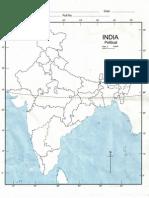 Map India Political