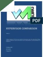 Hypervisor Comparison