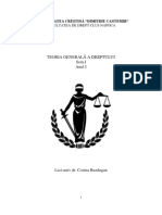Teoria Gen.a Dreptului I