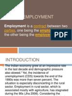 Rural Employment