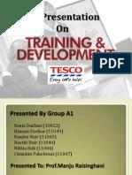 Training and Development at TESCO