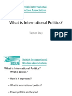 BISA What is International Politics.ppt