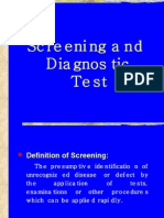 Screening and Diagnostic Test10[1]
