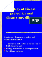 Strategy of Disease Prevention and Disease Surveillance 8[1]