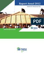 Raport Anual Habitat for Humanity Cluj 2012