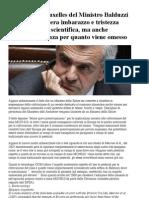 La Lettera a Bruxelles Del Ministro Balduzzi Sugli OGM
