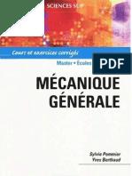Mecanique generale - Cours et exercices corriges.pdf