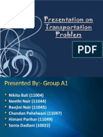 Solving Transportation Problem in Operations Research