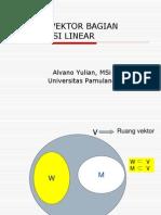 Ruang Vektor Kombinasi Linier 3