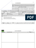 daily report format industries building materials