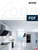 Gorenje UK - Built-in appliances 2009 - layout 03