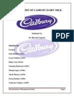 Brand Audit of Cadbury