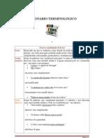 DICIONÁRIO TERMINOLÓGICO