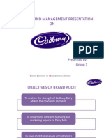 Strategic Brand Management of Cadbury