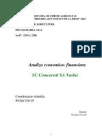Analiza Tehnico-Economica