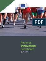 Innovacion Regional 2012 Regions Europa