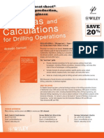 38525254 Formulas and Calculations for Drilling Operations by Robello Samuel Discount Flyer
