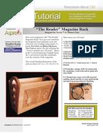 Magazine Rack Tutorial