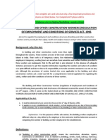 The Building And Other Construction Workers Regulation of employment and conditions of service act 1996.pdf