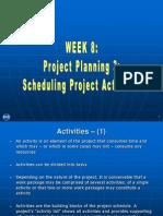 Project Preparation - Week 08