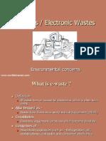 Lecture 9 E WASTE