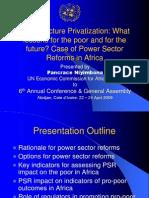AFURConference InfrastructurePrivatization PSR