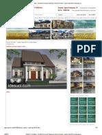 IDESUCI Arsitektur _ Arsitek Perencana Pelaksana_ Desain Rumah 1 Lantai Type 65 Di Lempongsari