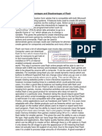 Advantages and Disadvantages of Flash.docx