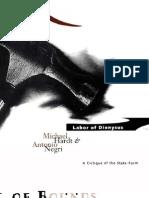 Michael Hardt and Antonio Negri - Labor of Dionysus
