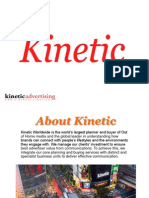 Kinetic Advertising Agency